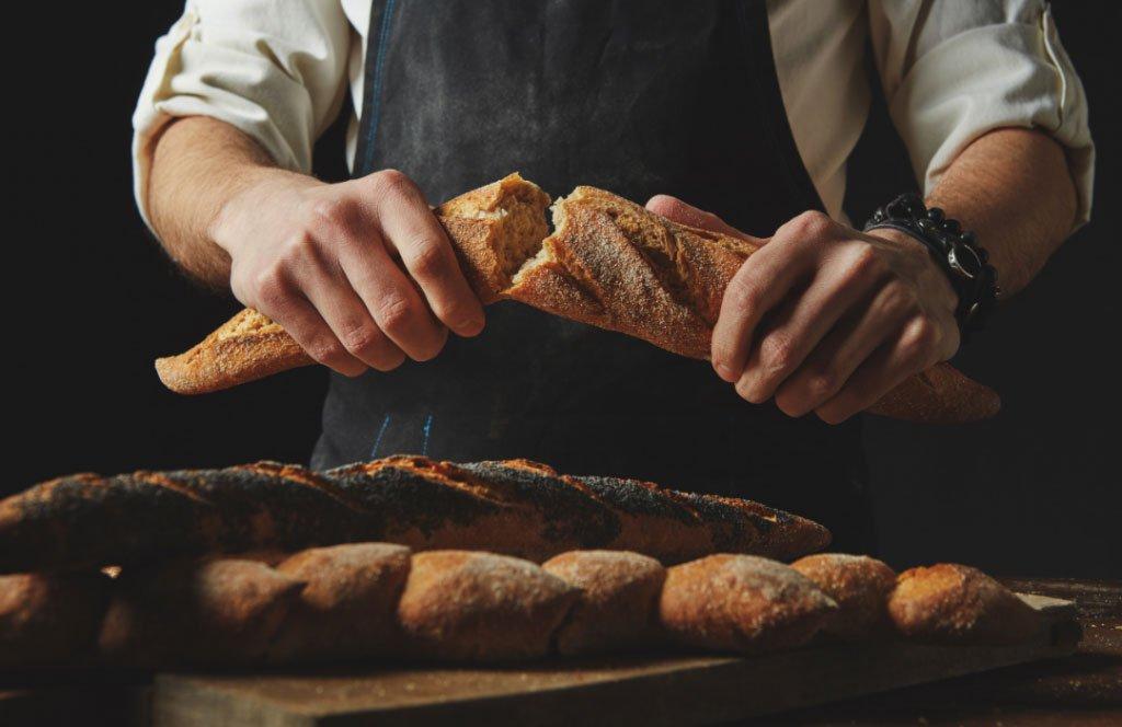 baguette bread french baker bastille day french festival melbourne